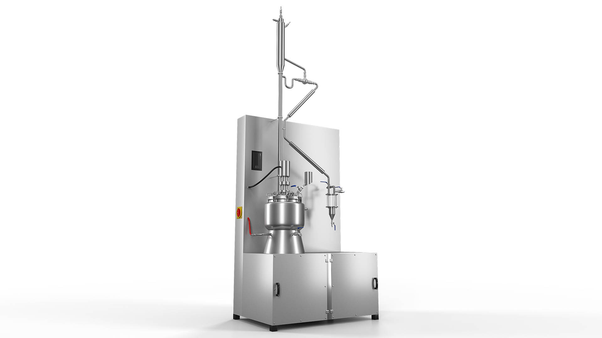 Sebat Rose Oil and Essential Oils Fractional Distillation Unit