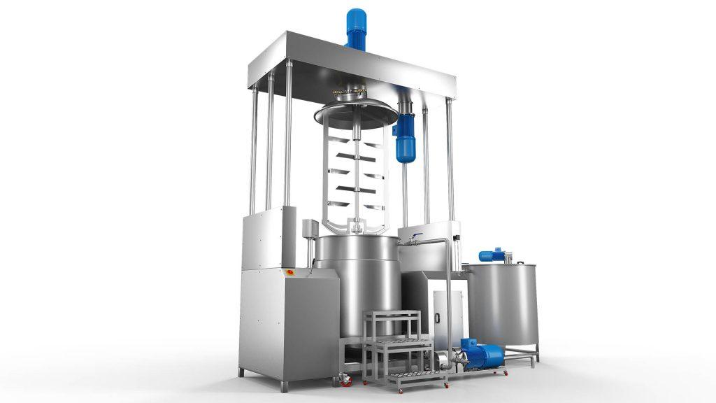 Sebat Rose Oil and Essential Oils Hydraulic Homogenizer Mixer