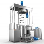 Sebat Rose Oil and Essential Oils Hydraulic Homogenizer Mixer