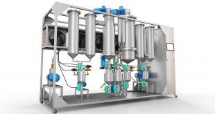 Sebat Rose Oil and Essential Oils Molecular Distillation Unit