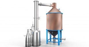 Sebat Rose Oil and Essential Oils Rose Flower Water Distillation Boiler